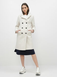 Biely kabát Dorothy Perkins
