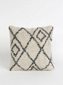 Béžový vzorovaný vannkúš Sass & Belle Berber