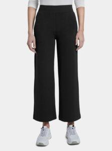 Čierne dámske široké nohavice Tom Tailor