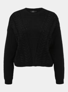 Čierny sveter ONLY Sara