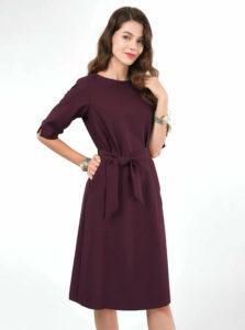 Vínové šaty Closet