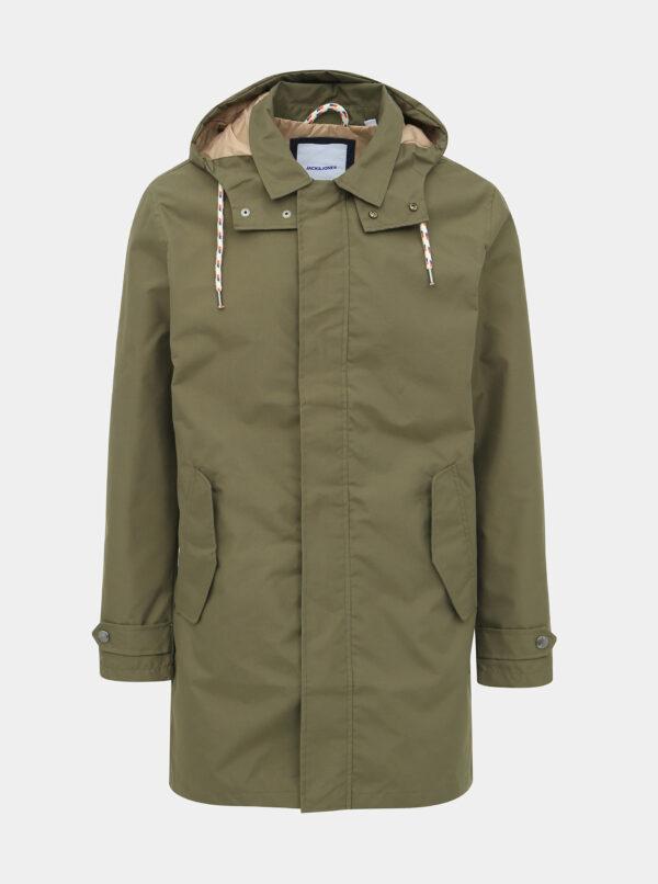 Zelený kabát Jack & Jones Fairly