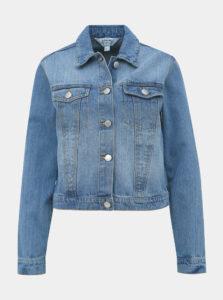 Modrá rifľová bunda Miss Selfridge