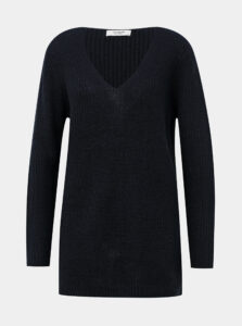 Tmavomodrý basic sveter Jacqueline de Yong Dusty