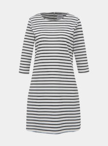 Čierno-biele pruhované šaty ONLY Brilliant