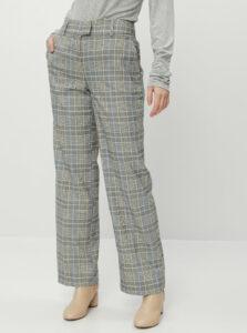 Šedé dámske kockované nohavice Tom Tailor Lea