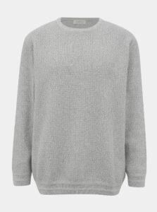 Šedý sveter Selected Homme Holiver
