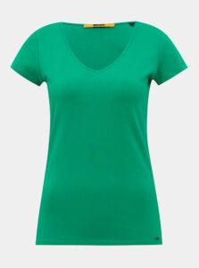 Zelené dámske basic tričko ZOOT Baseline Lia