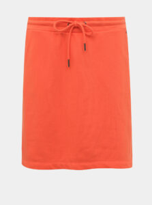 Oranžová basic sukňa ZOOT Baseline Mariola