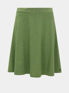 Zelená basic sukňa ZOOT Baseline Andrea