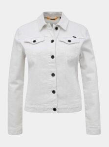 Biela dámska rifľová bunda ZOOT Baseline Chantelle