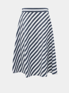 Bielo-modrá pruhovaná sukňa ZOOT Simona