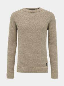 Béžový sveter Shine Original