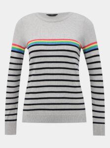 Šedý pruhovaný sveter M&Co Petite