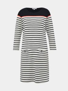 Modro-biele pruhované šaty M&Co