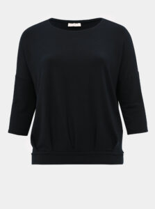 Tmavomodré tričko ONLY CARMAKOMA Mille