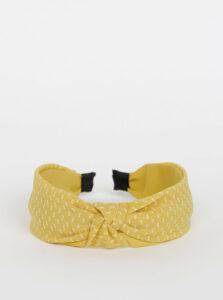 Žltá vzorovaná čelenka Pieces Nacie
