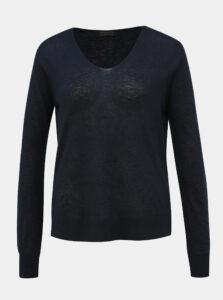 Tmavomodrý ľahký sveter Selected Femme Linel