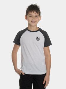 Biele chlapčenské tričko SAM 73