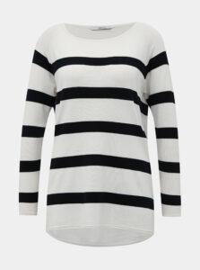 Modro-biely pruhovaný basic sveter ONLY Selena