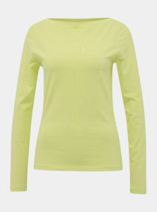 Svetlozelené basic tričko Vero Moda Panda