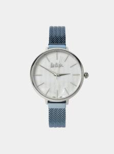 Dámske hodinky s modrým nerezovým remienkom Lee Cooper
