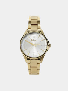 Dámske hodinky s nerezovým remienkom v zlatej farbe Lee Cooper