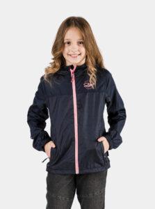 Tmavomodrá dievčenská nepromokavá bunda SAM 73