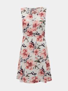 Biele kvetované šaty Haily´s Lia