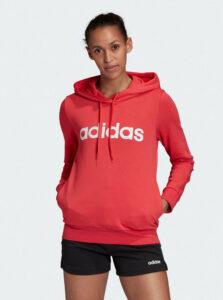 Červená dámska mikina adidas CORE