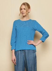 Modré pruhované tričko Tranquillo Uma