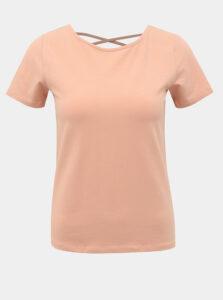Ružové tričko ONLY Mathilde