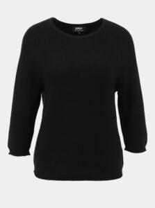 Čierny sveter s gombíkmi na chrbte ONLY Clara