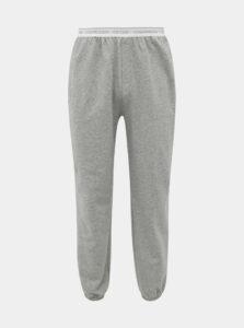 Šedé pánske tepláky Calvin Klein Underwear