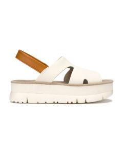 Camper Oruga Sandále Biela Béžová