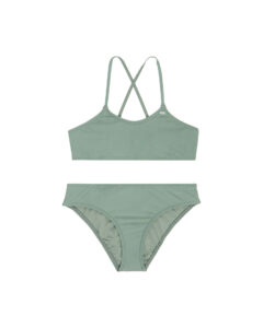 O'Neill Essential Dvojdielne plavky detské Zelená