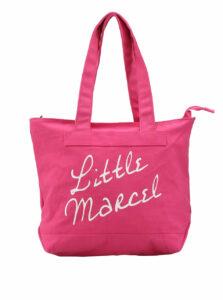 Veľká ružová taška Little Marcel Sity