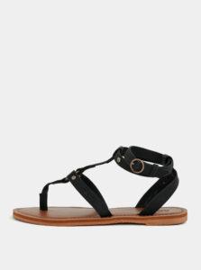 Čierne sandále Roxy Soria