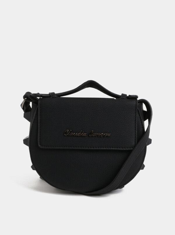 Čierna malá crossbody kabelka Claudia Canova Regal