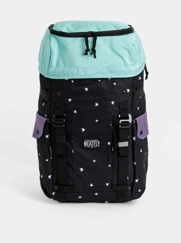 Čierny vzorovaný batoh Meatfly Scintilla 2 30 l