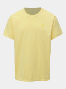 Žlté basic tričko s výšivkou Mr.Sailor