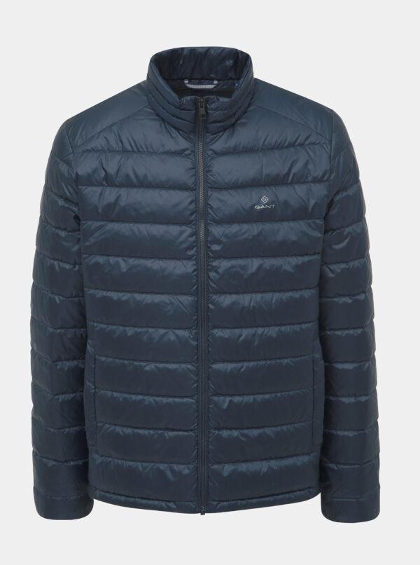 Tmavomodrá pánska zimná bunda GANT