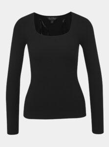 Čierny sveter Miss Selfridge