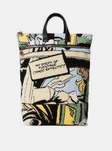 Krémový vzorovaný batoh Desigual Arty Kirby