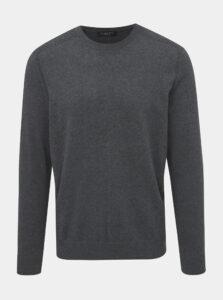 Šedý basic sveter Selected Homme Daniel
