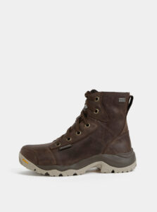 Hnedé pánske nepromokavé outdoorové topánky Columbia Camden