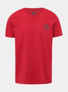 Červené pánske tričko s potlačou LOAP Beret