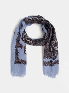 Modrá vzorovaná šatka Dorothy Perkins