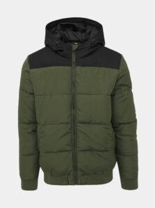 Kaki prešívaná zimná bunda ONLY & SONS Boston