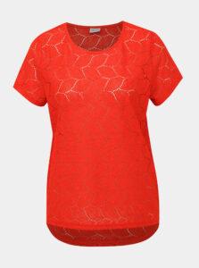 Červená krajková blúzka Jacqueline de Yong Tag